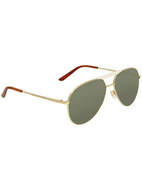 8f019f0af91 Product Image Gucci Green Aviator Sunglasses GG0242S 003 59