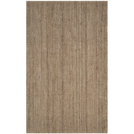 Safavieh Natural Fiber Collection Nf447m Hand Woven And Grey Jute Area Rug 2 6 X 4