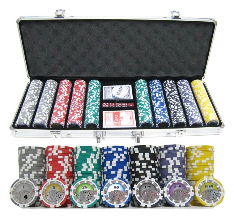 Casino Royale Clay Poker Chip Set by JP Commerce