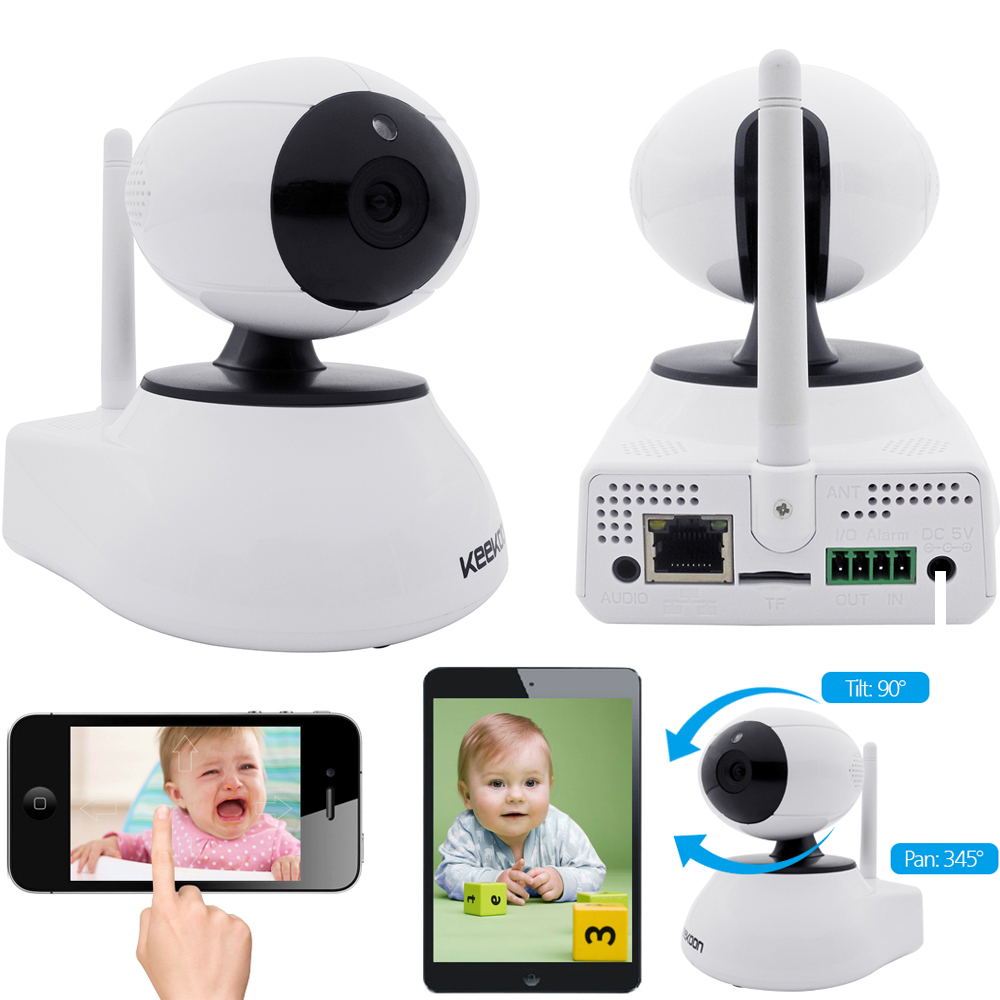 Digital PNP P2P Wireless WIFI Network IP Security Camera with Night Vision NEW