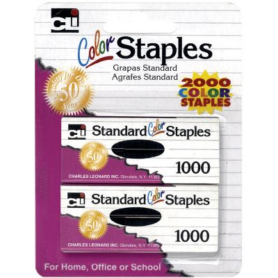 80262 CLI Standard Colored Staple - Chisel Point - 1/Pack