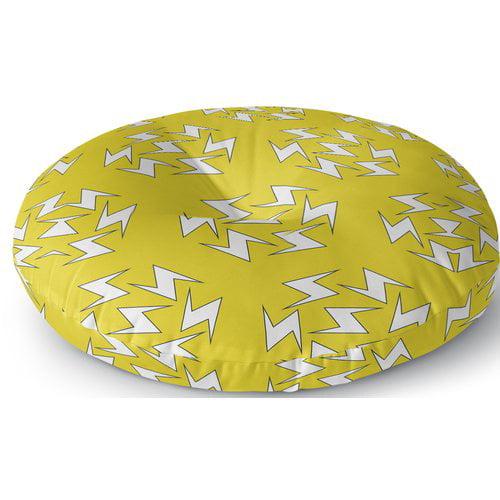 Zoomie Kids Aleshire Lightning Bolt Outdoor Floor Pillow