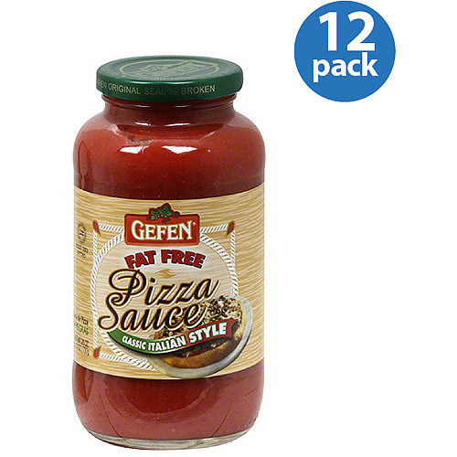 ***Discontinued***Gefen Fat-Free Classic Italian-Style Pizza Sauce, 26 oz, (Pack of 12)