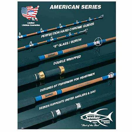 Seeker fishing rods a270 7s 7 39 live bait for Seeker fishing rods