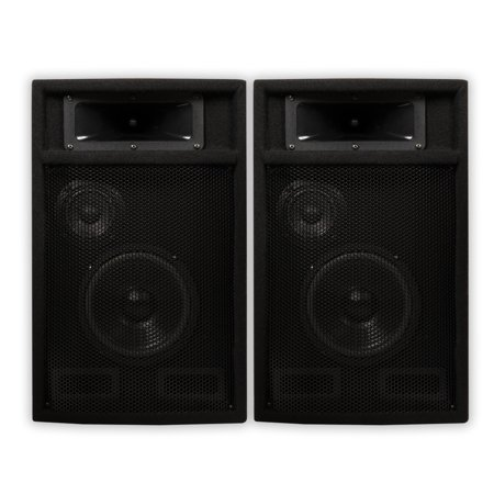 Acoustic Audio PA-365X Passive 1000 Watt 3-Way Speaker Pair DJ PA Karaoke Studio Speakers Apple Studio Speakers