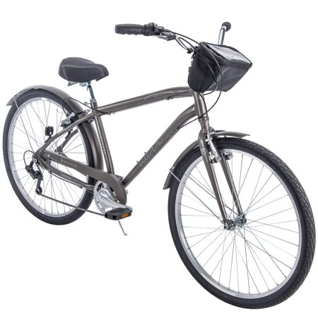 "Huffy 27.5"" Parkside Men's 7-Speed Bike with Lightweight Aluminum Frame"