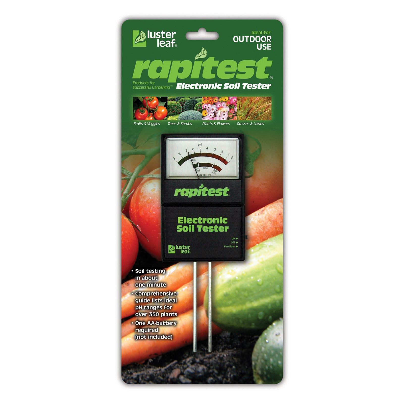 Luster Leaf Electronic Soil Tester