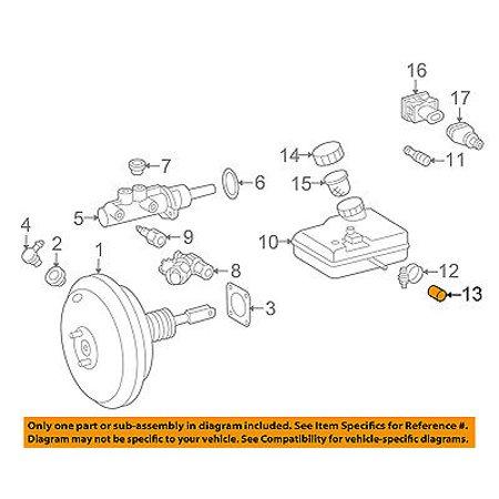 Dodge CHRYSLER OEM-Brake Master Cylinder/other Reservoir Tank Cap 5119387AA