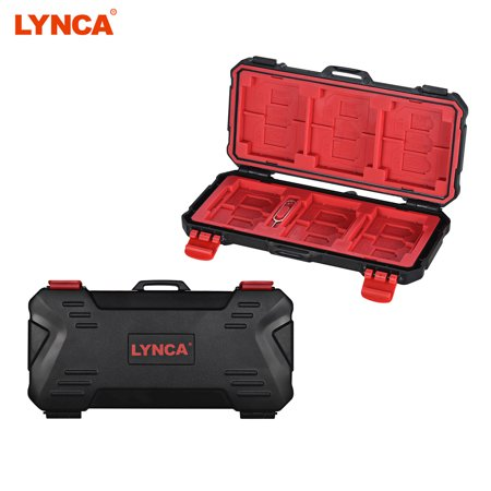 LYNCA KH 15 Water-resistant XQD/CF/TF/MSD/SD/Micro SIM/NANO Memory Card Case Box Keeper Carrying Holder Storage Organizer 36 Slots for Sandisk Transcend Lexar Kingston](Kingston Halloween Store)