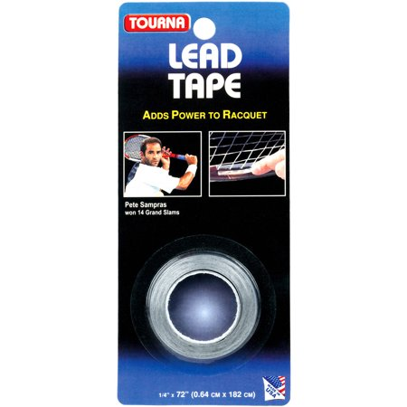 Tourna Lead Tape  1 4  X 72   For Tennis  Golf  Racquetball And Squash