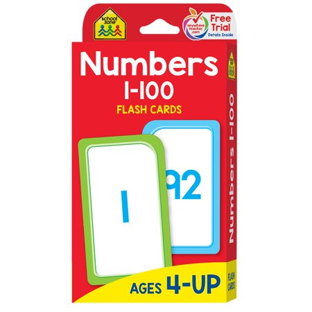 Flash Card: Numbers 1-100: Flashcards (Jumbo Flash Cards)