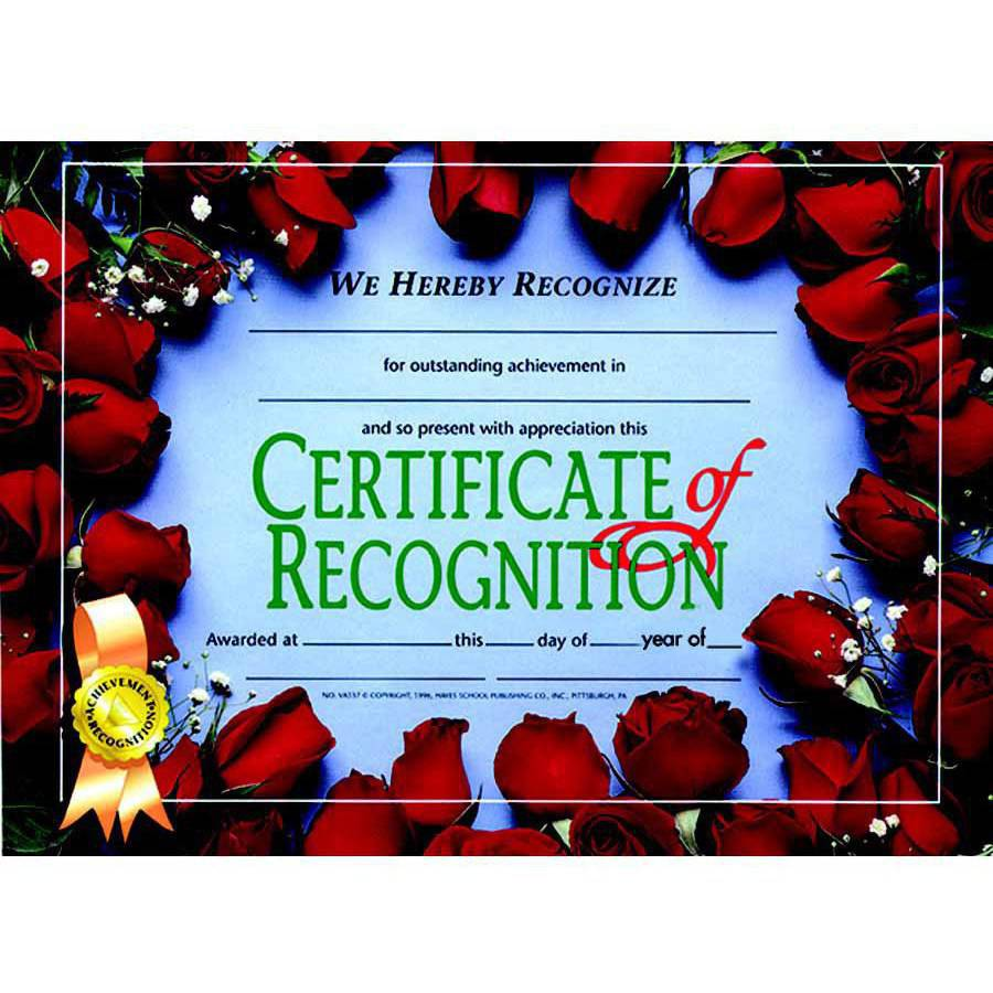 "Hayes Recognition Certificate Holder, 8.5"" x 11"", Pack of 30"
