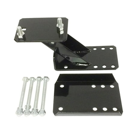Heavy Duty Trailer Spare Tire Wheel Mount Holder Bracket Carrier for 4 & 5 lugs wheels - 27010