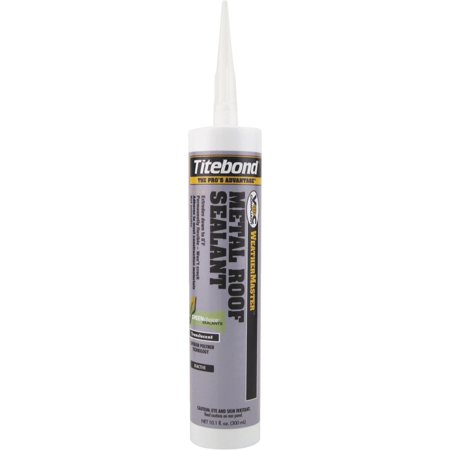Franklin Internation 61111 10.1 oz Titebond Metal Roof Sealant, Clear - Pack of 12