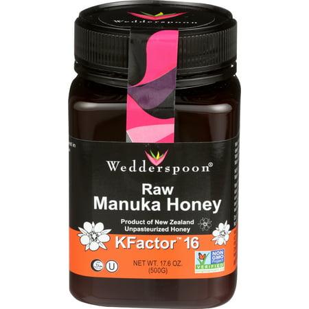 Wedderspoon Manuka Honey Kfactor 16 - 17.6 ounce