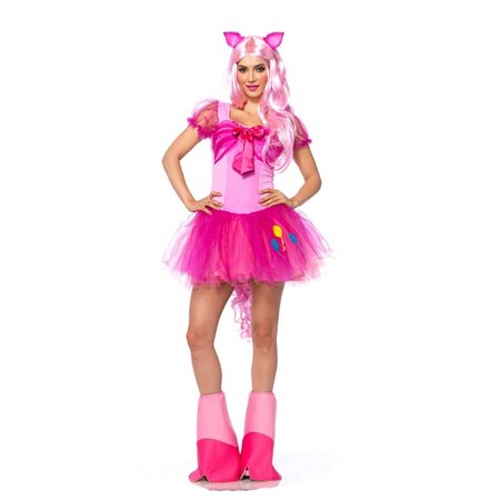 Pinkie Pie My Little Pony Adult Womens Halloween Costume