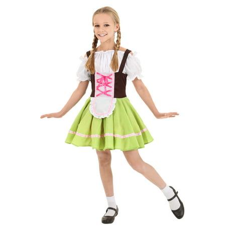 Child German Girl Costume Little German Girl