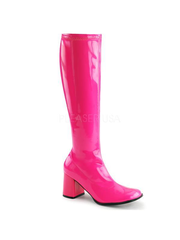 Neon H. Pink Str Pat Boots Funtasma Women's Boots Pat Size: 12 c61304