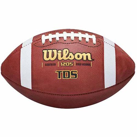 Wilson TDS Traditional Official Game Football, Brown