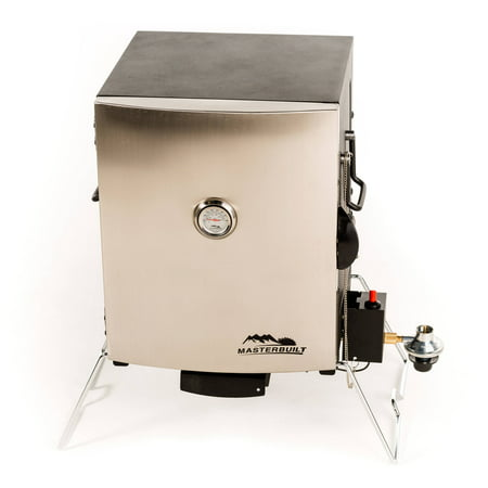 Masterbuilt Portable Stainless Steel Gas (Patio Portable Smoker)