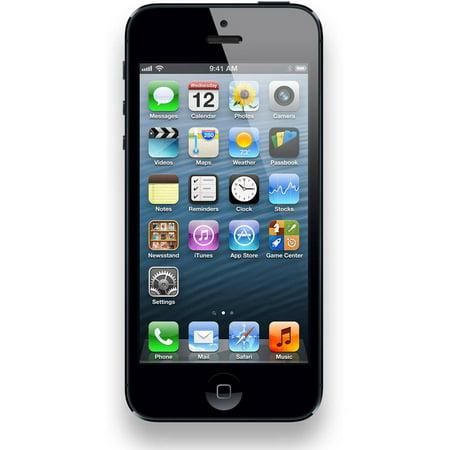 Refurbished Apple iPhone 5 16GB, Black - Unlocked GSM