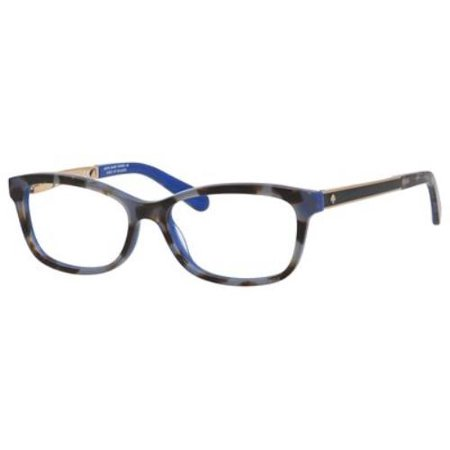 0958e87030 KATE SPADE Eyeglasses ANGELISA 0S5A Blue Havana Gold 53MM - Walmart.com