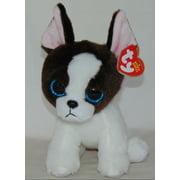 "Portia Terrier Ty Beanie Babies Plush stuffed animal figure 6"" new w/ tags"