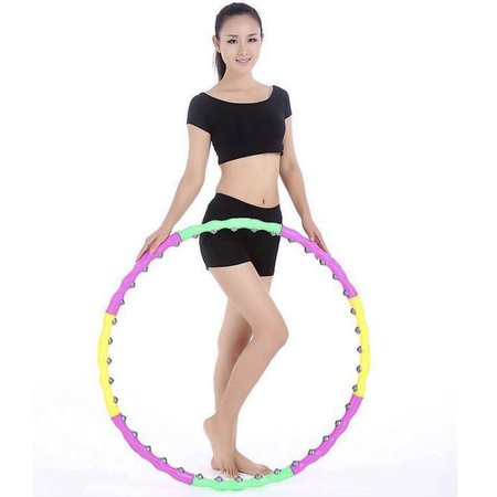 Hoola Hoops for Adults-Weighted Hoop for Exercise-2lb, Detachable Design- Professional Fitness Hoop](Petticoat Hoop)