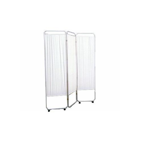 Marble Medical Three Panel Privacy Screen With Wheels