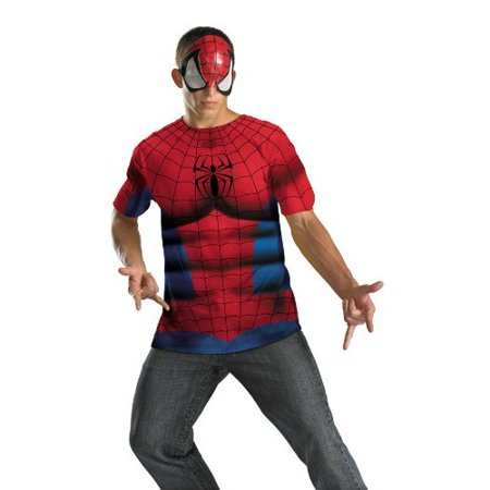 Spider-Man No Scars Alternative Adult Halloween Costume (Tool No Quarter Halloween)