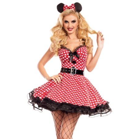 Missy Mouse Costume PK751 Raveware - Mouse Adult Costume