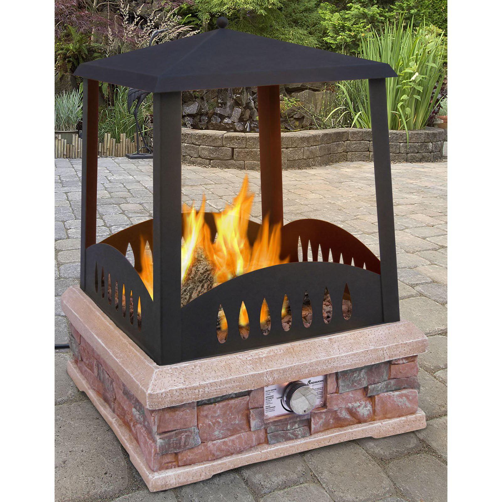 landmann steel fireplace grate with ember retainer walmart com