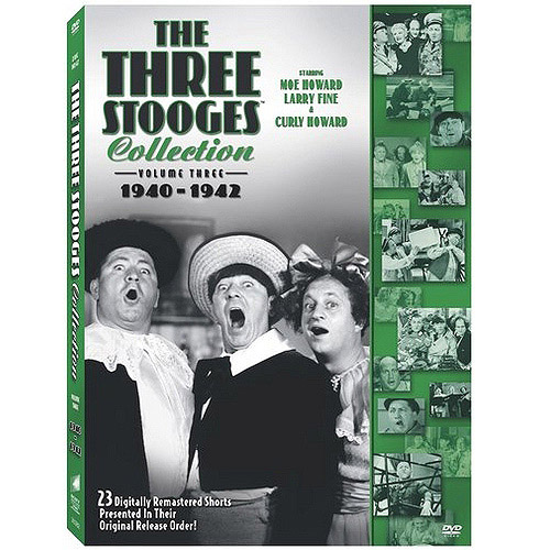 The Three Stooges Collection, Vol. 3: 1940-1942