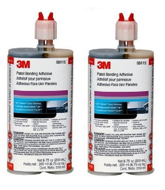 3M 08115 Panel Bonding Adhesive, 200 ml, 2 Pack by 3M