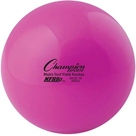 Champion Sports Fhb1pk Field Hockey Balls (Pack 12) Pink