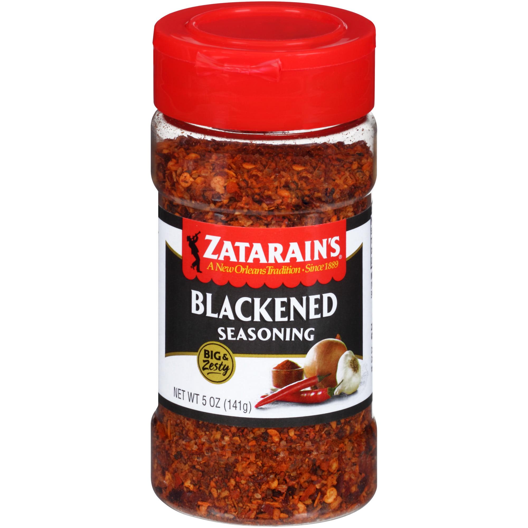 (2 Pack) Zatarain's Blackened Big & Zesty Spice Blend, 5 oz