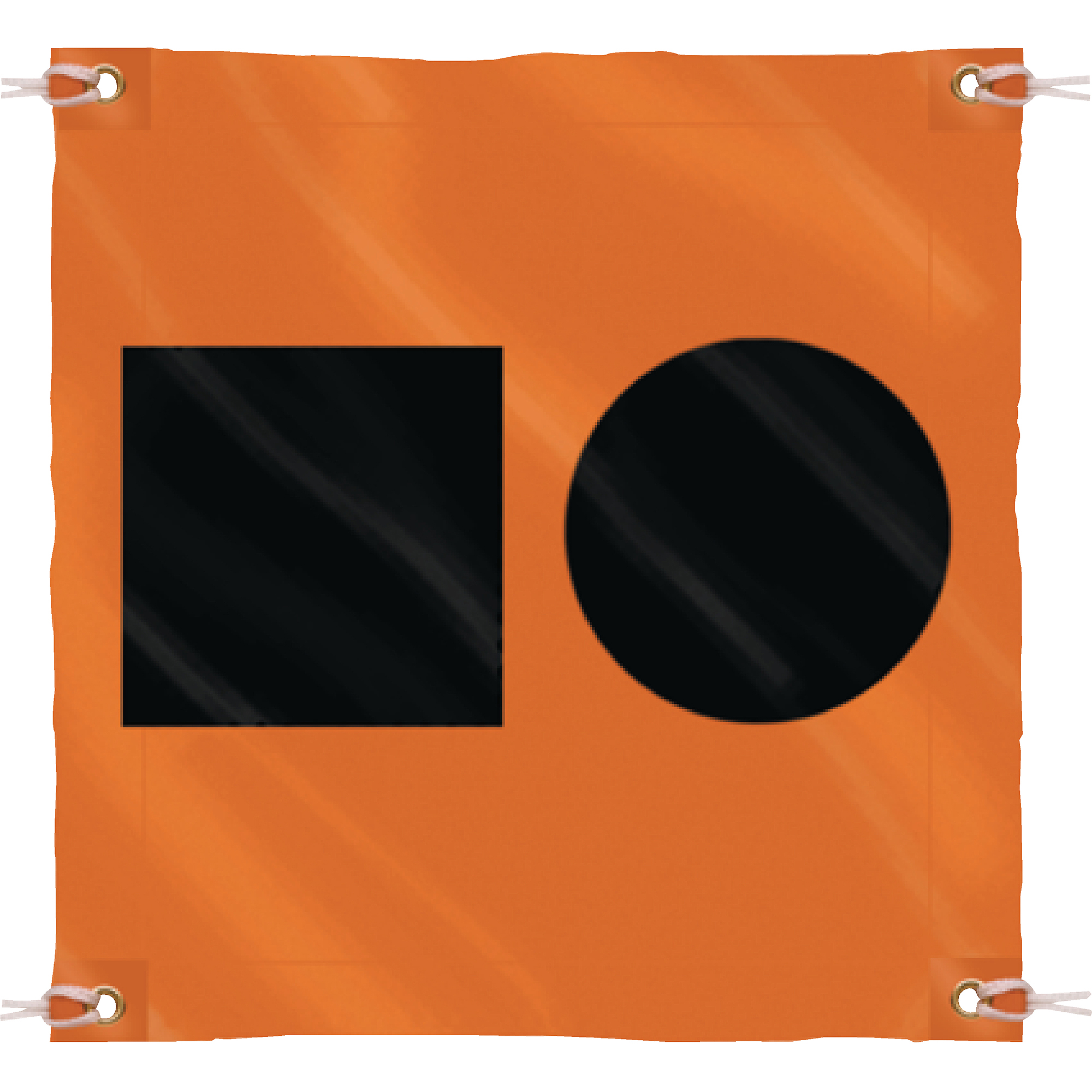 Seachoice 3' x 3' Orange Distress Signal SOS Flag by Seachoice Products