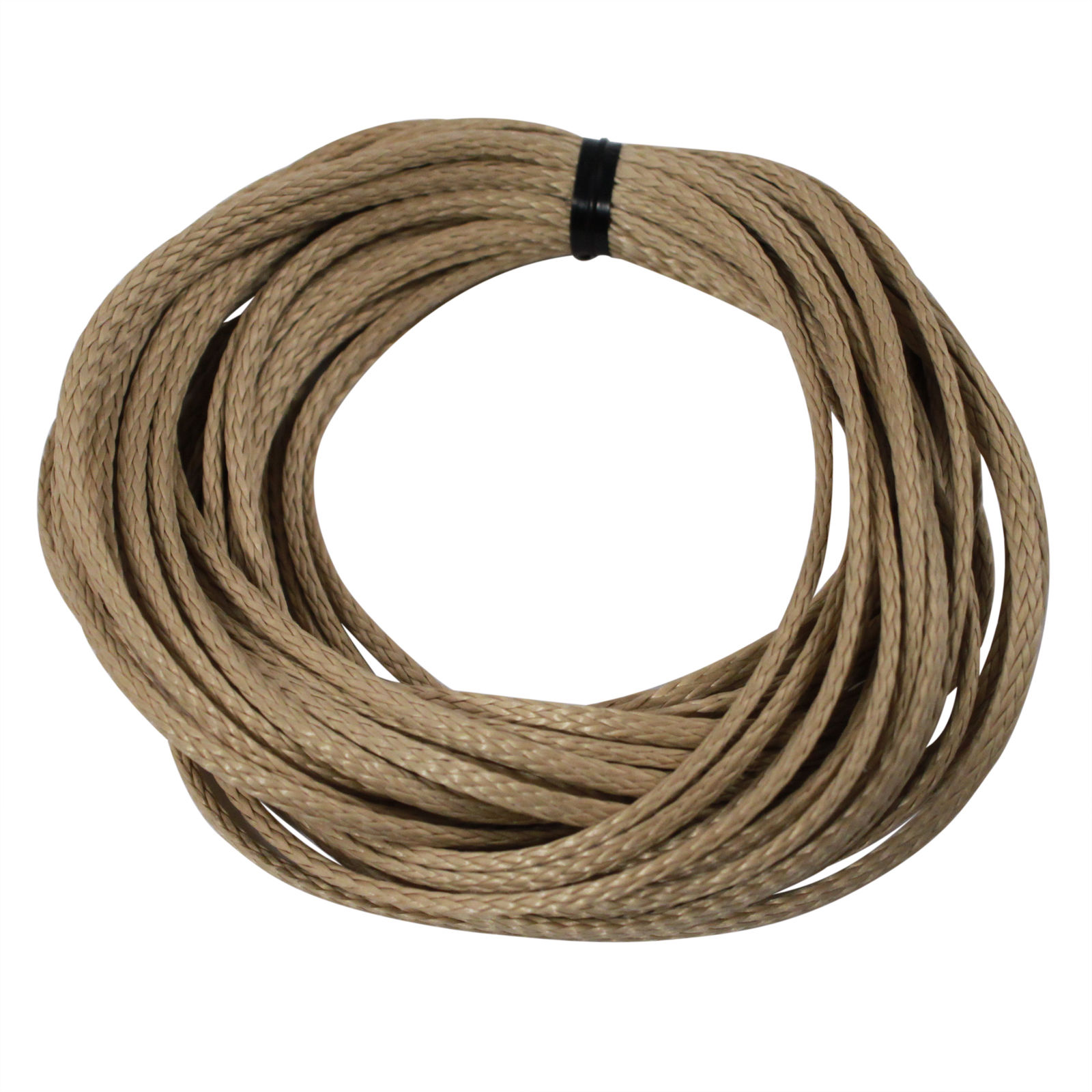 ASR Outdoor Braided Technora 950lb Survival Rope - Natural (Many Lengths)