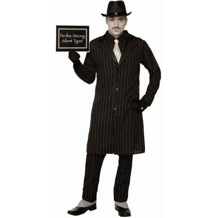 Buy Silent Hill Halloween Costumes (Men's Silent Movie Gangster)