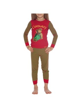 Courduroy Cotton Tight Fit Pajamas, 2pc Set (Toddler Boys or Toddler Girls Unisex)