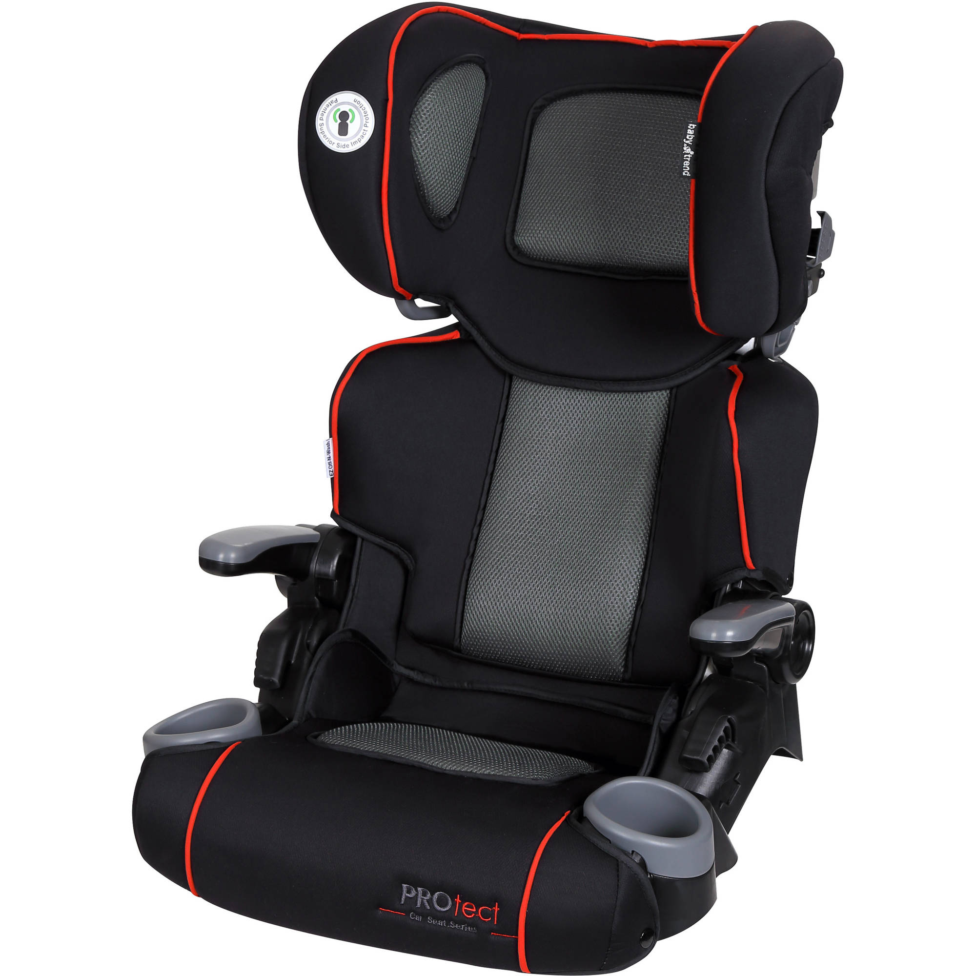 Baby Trend Protect Yumi Folding High Back Booster Car Seat