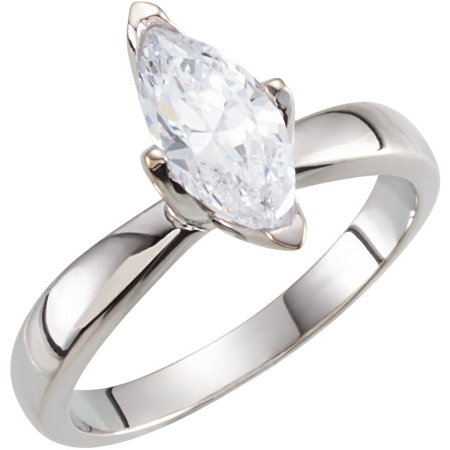 Vs2 Gia Certified Loose Diamond (Marquise Diamond Solitaire Engagement Ring, 14k White Gold (0.7 Ct, I Color, VS2 Clarity) GIA Certified )