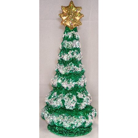 Ino Schaller Paper Mache Large Christmas Tree German Candy Container New Germany
