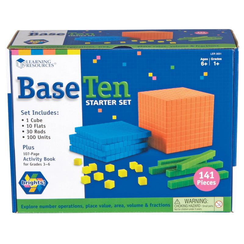 Learning Resources Brights! Base Ten Starter Kit