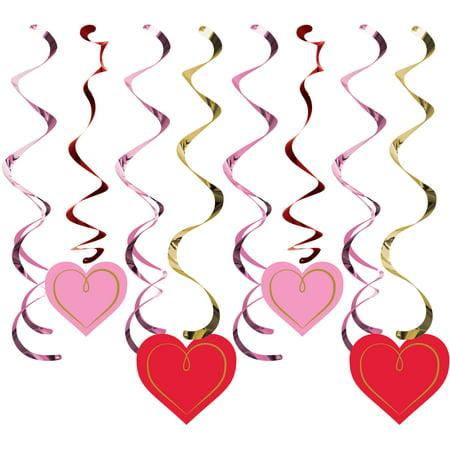 Valentines Day Split Dizzy Danglers