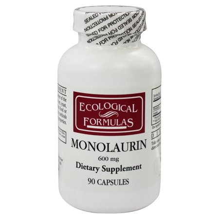 Cellular Research Formulas - Ecological Formulas - Monolaurin 600 mg. - 90 Capsules (Formerly Cardiovascular Research)