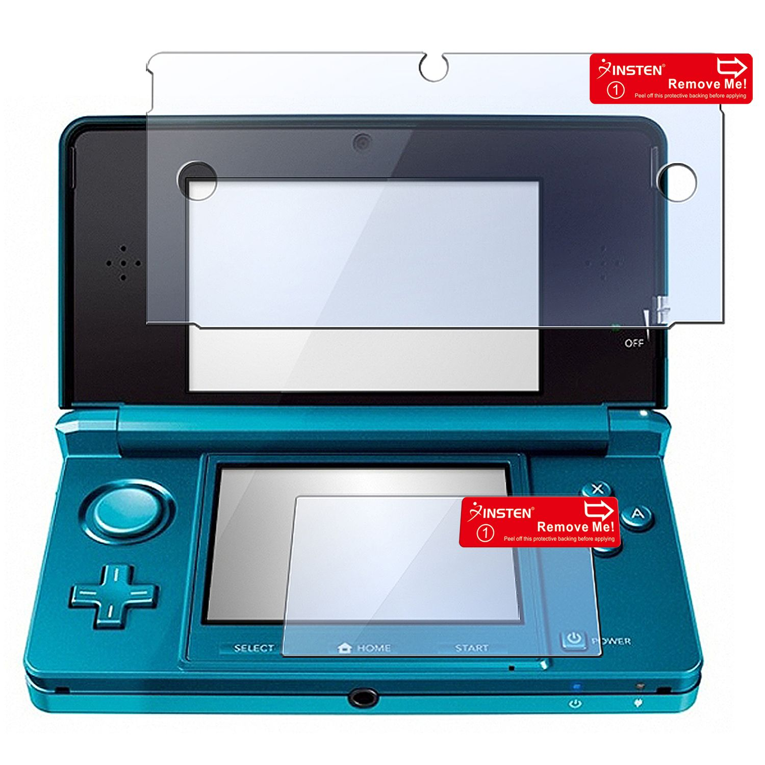 Insten 2 Pc Reusable Screen Protector For Nintendo 3ds Xl Wiring Diagram