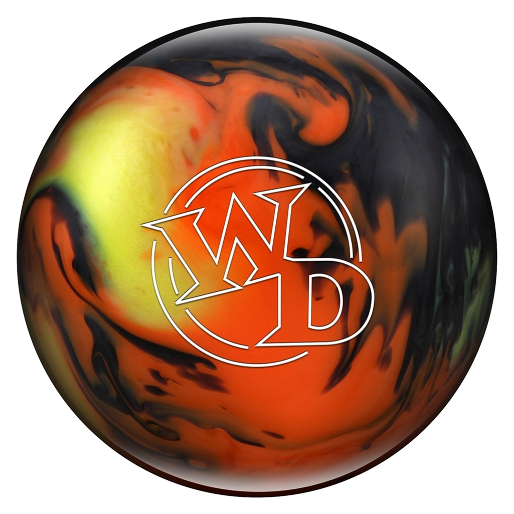 Columbia 300 White Dot PRE-DRILLED Bowling Ball- Lava (8lbs)