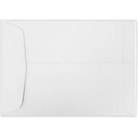 7 x 10 Open End Envelopes - 24lb. Bright White (1000 Qty.)