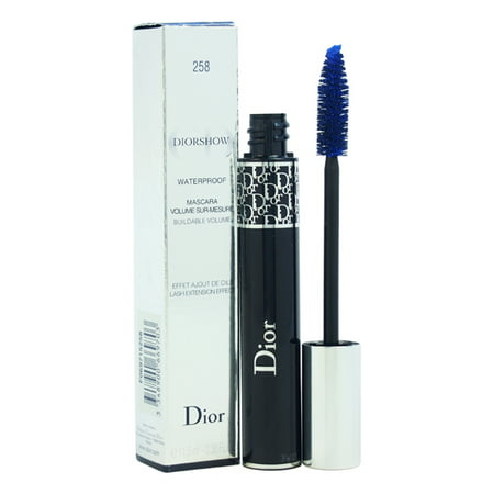 DiorShow Waterproof Backstage Makeup Mascara - # 258 Azur Blue by Christian Dior for Women - 0.38 oz -